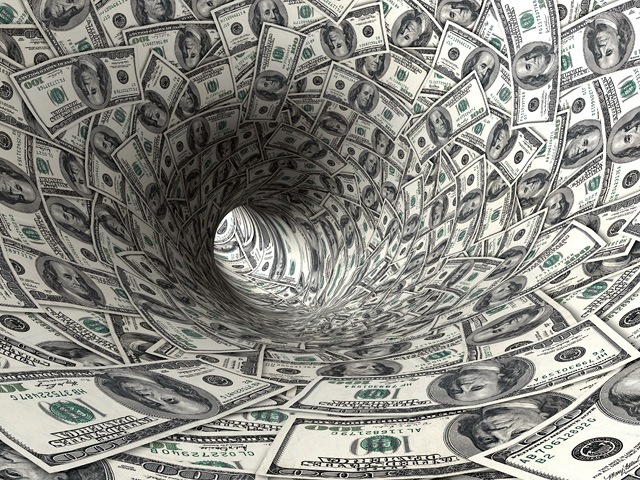 Trillion Dollars Debt Spiral