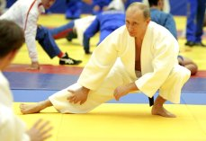 Russia's Prime Minister Vladimir Putin t