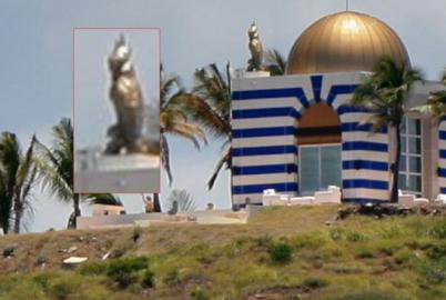 Epstein Pedo Island Temple